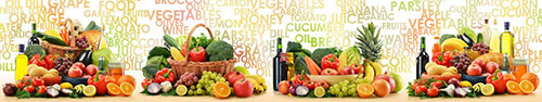 Скинали - Разнообразные овощи и фрукты