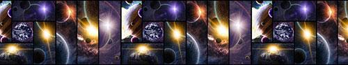 Скинали - Космический коллаж