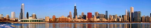 Скинали - Чикаго, Илинойс, пейзаж