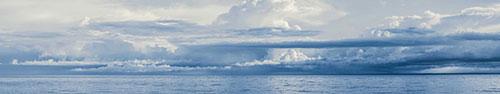 Скинали - Морской горизонт с облаками