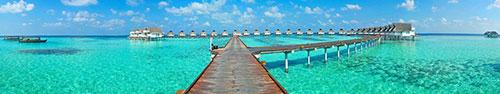 Скинали - Бунгало на воде, Мальдивы