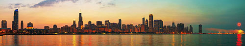 Скинали - Вид на Чикаго