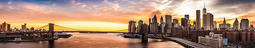 Скинали - Нью-Йорк на закате дня