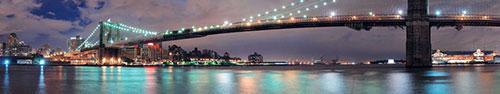 Скинали - Бруклинский мост ночью