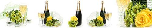 Скинали - Розы, шампанское и хризантемы