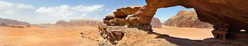 Скинали - Природный горный «мост» в пустыне Иордании