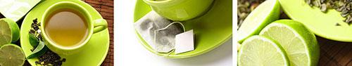 Скинали - Зеленый чай с лаймом