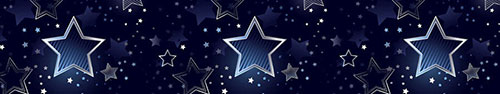 Скинали - Звезды на темно-синем фоне