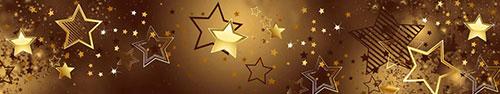 Скинали - Скопление желто-коричневых звездочек