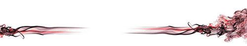 Скинали - Красный абстрактный дым на белом фоне