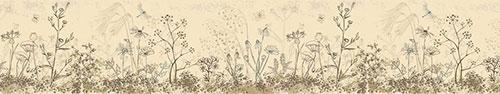 Скинали - Полевые цветы, иллюстрация