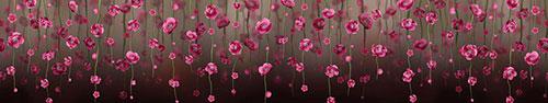 Скинали - Распустившиеся веточки весенних цветов