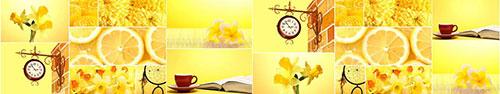 Скинали - Коллаж в желтом цвете