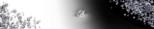 Скинали - Бриллианты на бело-черном фоне
