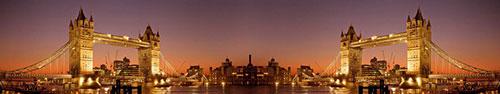 Скинали - Закатный вид на Тауэрский мост, Лондон