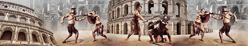 Скинали - Коллаж на тему гладиаторских боев