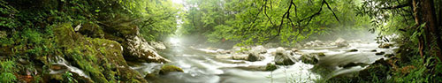 Скинали - Река, текущая через реку, Национальный парк в США