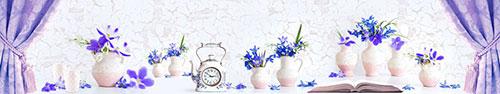 Скинали - Вид на нежные весенние цветы