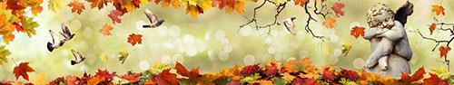Скинали - Осенний ангел и птицы