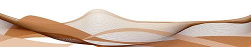 Скинали - Яркие коричневые линии на белом фоне