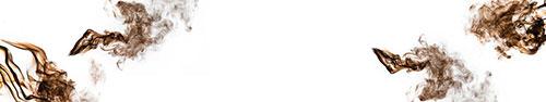 Скинали - Коричневый дым на белом фоне