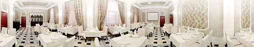 Скинали - Европейский ресторан, вид изнутри