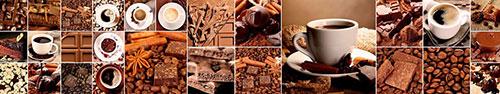 Скинали - Кофе, корица и шоколад, коллаж