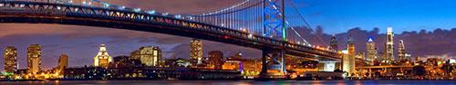 Скинали - Сумерки в Филадельфии, Мост Бенджамина Франклина