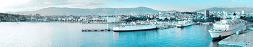 Скинали - Порт в Сплите, Хорватия