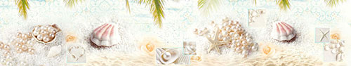 Скинали - Светлый фотоколлаж на морскую тему