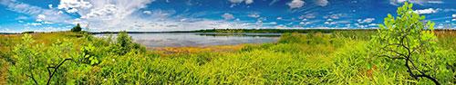 Скинали - Захватывающий вид на реку Волга