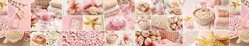 Скинали - Светло-розовый спа коллаж