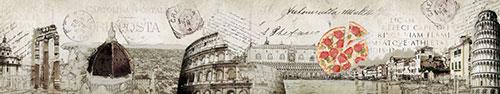 Скинали - Итальянский винтажный коллаж