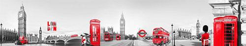 Скинали - Биг-Бен и жизнь Лондона в красных акцентах