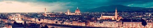 Скинали - Панорама вечерней Флоренции