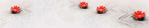 Скинали - Красные цветы на песке