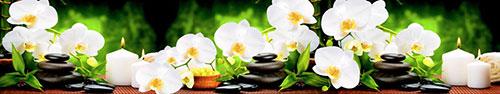 Скинали - Спа камушки и белые орхидеи
