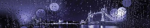 Скинали - Ночной Лондон сквозь стекло