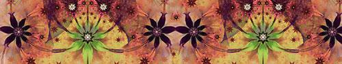 Скинали - Цветочная абстракция