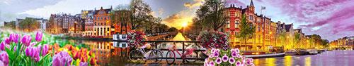 Скинали - Вечерний Амстердам, Нидерланды