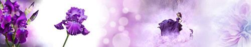 Скинали - Пурпурные ирисы