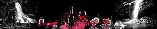 Скинали - Фантастический коллаж с розами и свечами