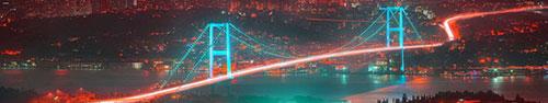 Скинали - Босфорский Мост в Стамбуле, Турция