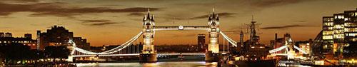 Скинали - Ночной Тауэр Бридж, Лондон