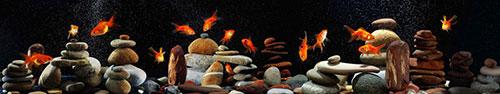 Скинали - Аквариум с золотыми рыбками