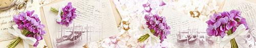 Скинали - Фиолетовые фиалки, винтажные письма и фотографии Венеции