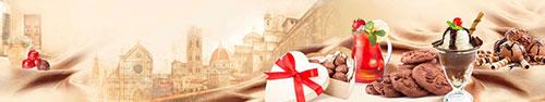 Скинали - Разные сладости с фотографиями Флоренции