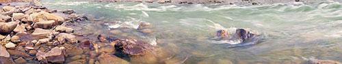 Скинали - Течение реки в Карпатах