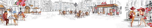 Скинали - Отдых в кафе в центре города