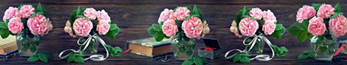 Скинали - Нежные пионы в вазах